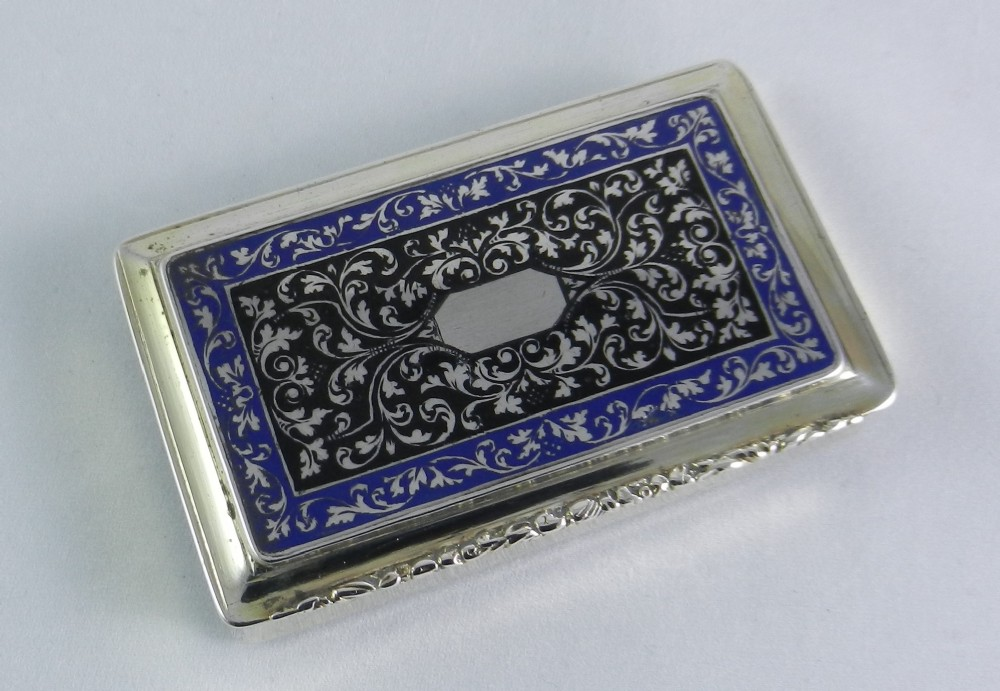 antique austrian silver box