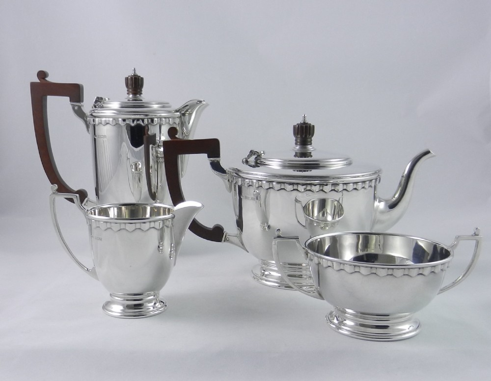silver sixties tea set