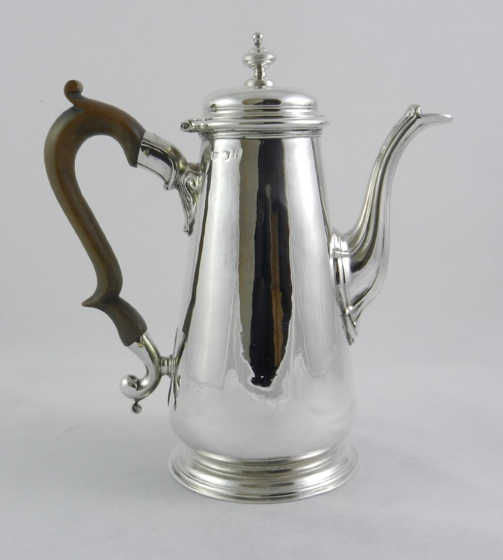 geoii silver coffee pot